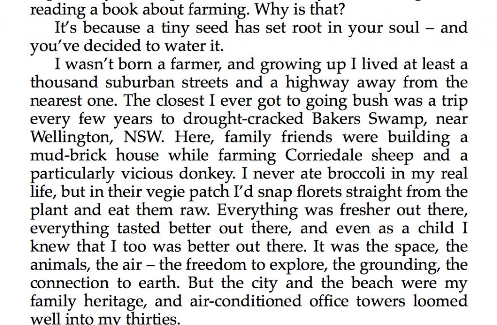 Small Farm Success
